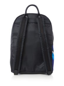 Ted Baker Casiddy black floral nylon backpack