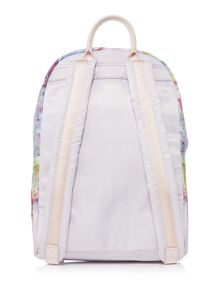 Ted Baker Freia light pink floral nylon backpack