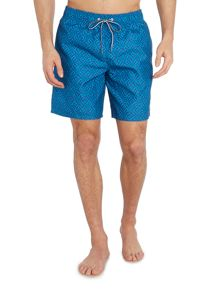 Ted Baker Abmidl large geo print swim shorts