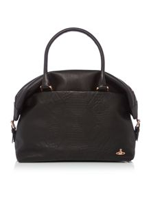 Hogarth black large tote bag
