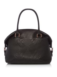 Vivienne Westwood Hogarth black large tote bag