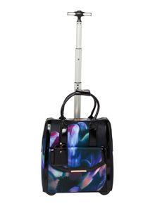 Ted Baker Cosmina black floral travel bag