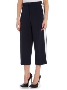Michael Kors Tux stripe wide leg trousers
