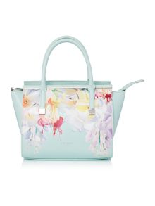Ted Baker Honora light green floral cross body tote bag