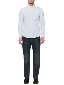 Howick Striped Oxford Slim Fit Shirt