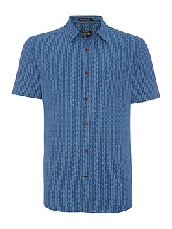 Zellwood indigo short sleeve shirt