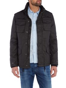 Schott NYC Waxed 4 Packet Field Jacket