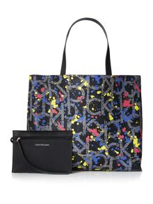 Calvin Klein Joyce multi coloured reversible tote bag