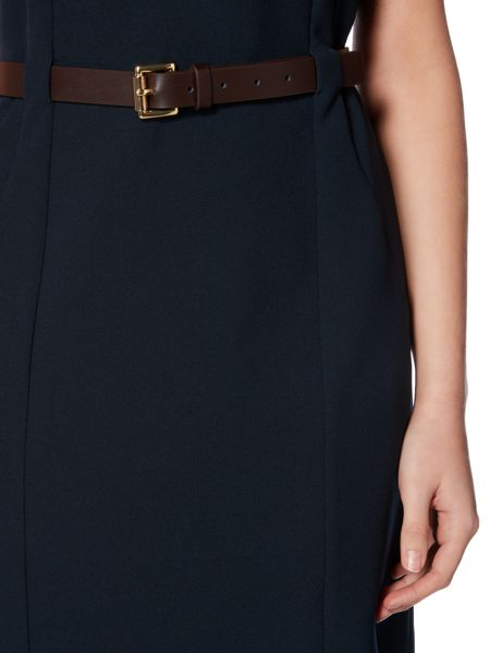 Michael Kors Sleeveless fitted seam dress