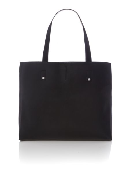 Calvin Klein Joyce black large shoulder tote bag