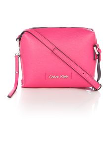 Joyce small pink crossbody bag