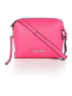 Calvin Klein Joyce small pink crossbody bag