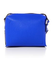 Joyce small blue crossbody bag