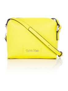 Joyce small yellow crossbody bag
