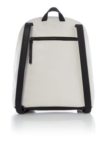 Kenneth Cole White and black backpack