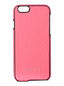 Standalone pink iphone 6 cover