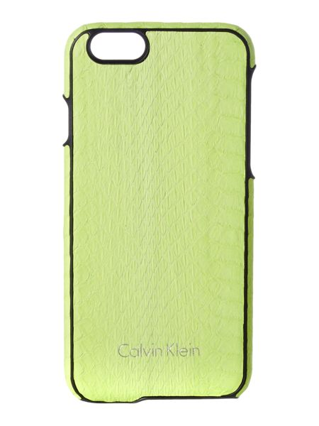 Calvin Klein Standalone yellow iphone 6 cover