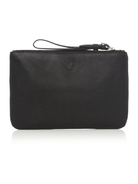 Kenneth Cole Black pouch bag