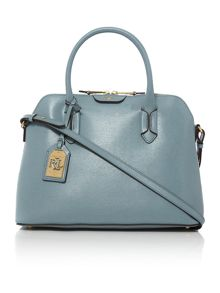 Lauren Ralph Lauren Tate light blue dome grab bag