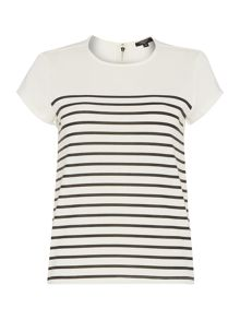Therapy Stripe Shell Top