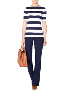 Lauren Ralph Lauren Ailis thick stripe nautical tee