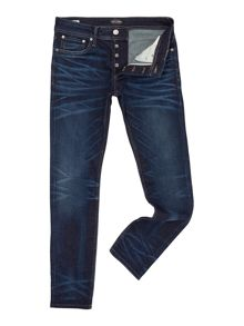 Jack & Jones Slim Fit Mid Wash Jeans