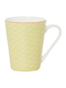 Ceremony Lime Geo Mug