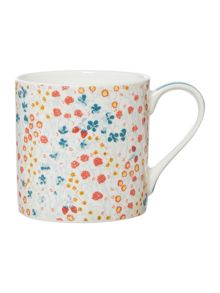Dickins & Jones Market Floral Mug