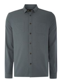 Label Lab Terence Herringbone Long Sleeve Shirt
