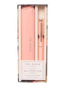 Ted Baker Light orange touchscreen pen