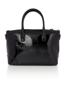 Lauren Ralph Lauren Fairfiled patent black tote bag