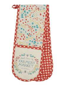 Dickins & Jones Farmers market double oven glove