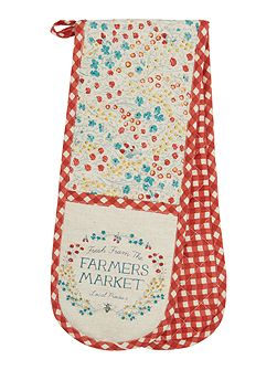 Farmers market double oven glove