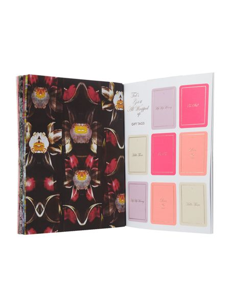 Ted Baker Multi-coloured gift wrap book
