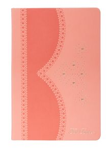 Light orange medium notebook