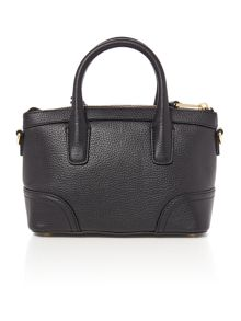 Lauren Ralph Lauren Fairfiled black mini satchel