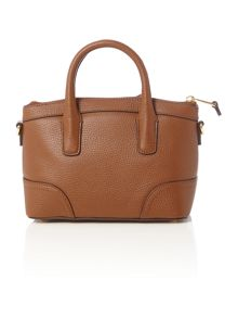 Lauren Ralph Lauren Fairfield tan mini satchel