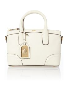 Lauren Ralph Lauren Fairfiled white mini satchel