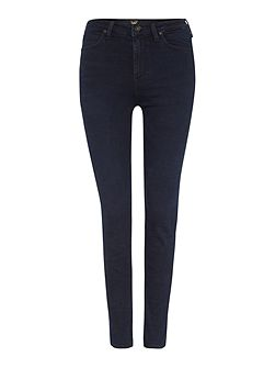 Skyler high rise skinny jean in raven blue