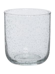 Gray & Willow Bubble Glass Tumbler