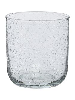 Bubble Glass Tumbler