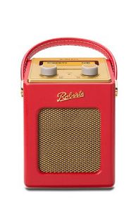 Roberts Revival Mini DAB Radio Red