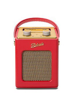 Revival Mini DAB Radio Red