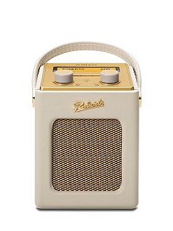 Revival Mini DAB Radio Pastel Cream