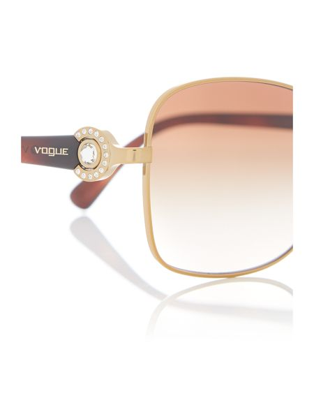 Vogue Gold butterfly sunglasses VO3982SB