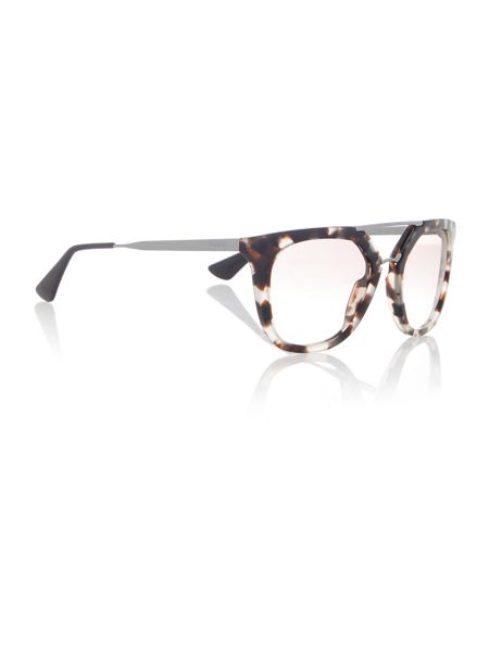 Prada Sunglasses PR 13QS irregular sunglasses