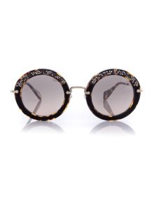 MU 08RS round sunglasses