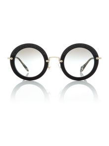 Miu Miu MU 08RS round sunglasses