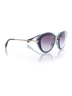 MU 51RS cat eye sunglasses
