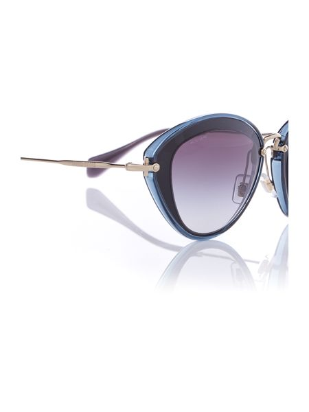 Miu Miu MU 51RS cat eye sunglasses